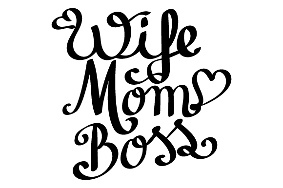 wife mom boss svg #879, Download drawings