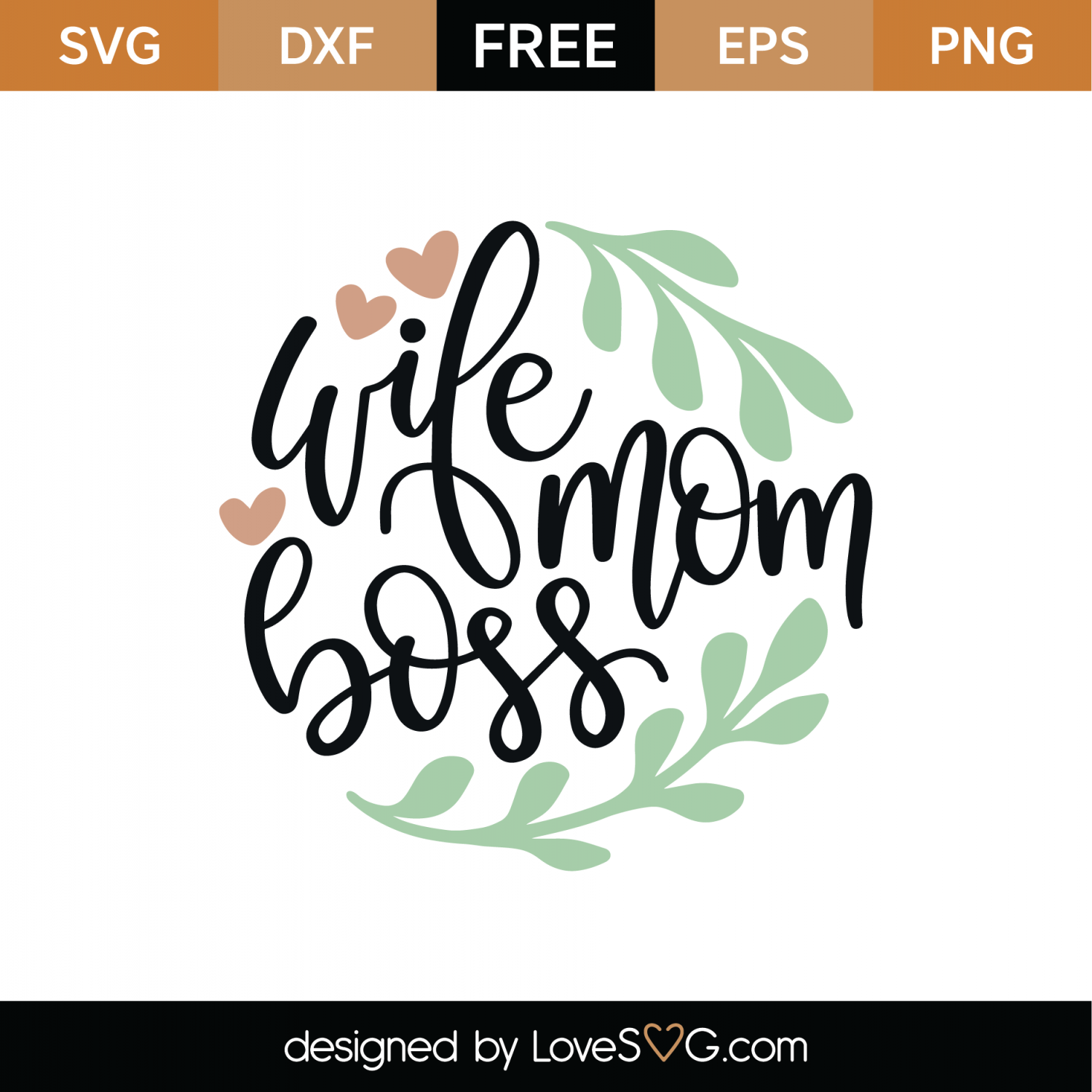 wife mom boss svg #876, Download drawings