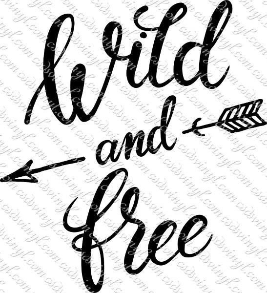 wild and free svg #1042, Download drawings