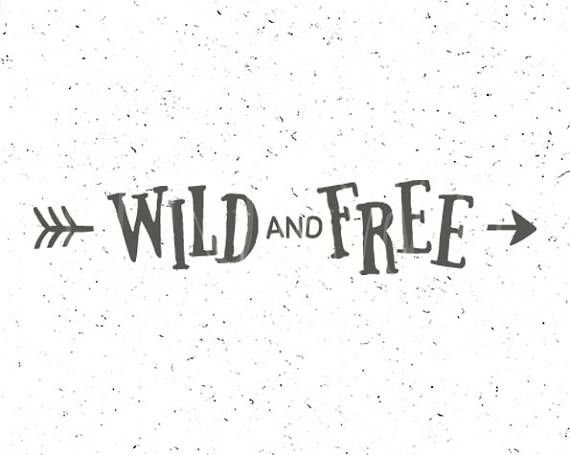 wild and free svg #1035, Download drawings