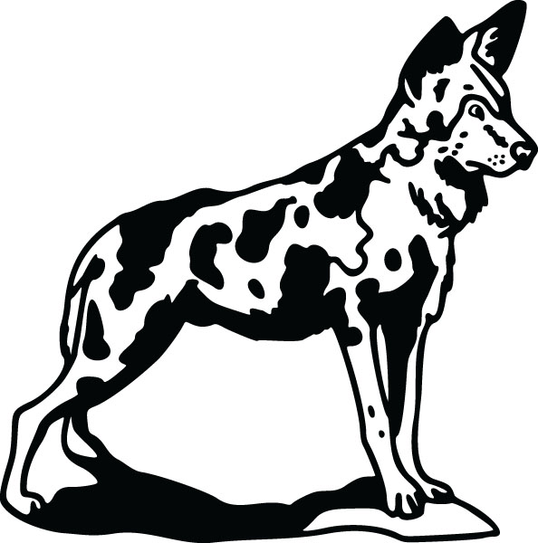 Wild Dog clipart #16, Download drawings