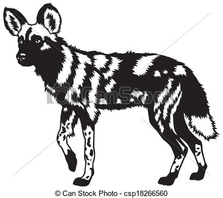 Wild Dog clipart #3, Download drawings