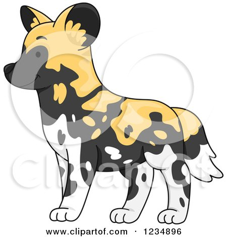 Wild Dog clipart #10, Download drawings