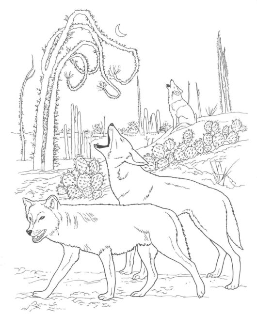 Wild Dog coloring #18, Download drawings