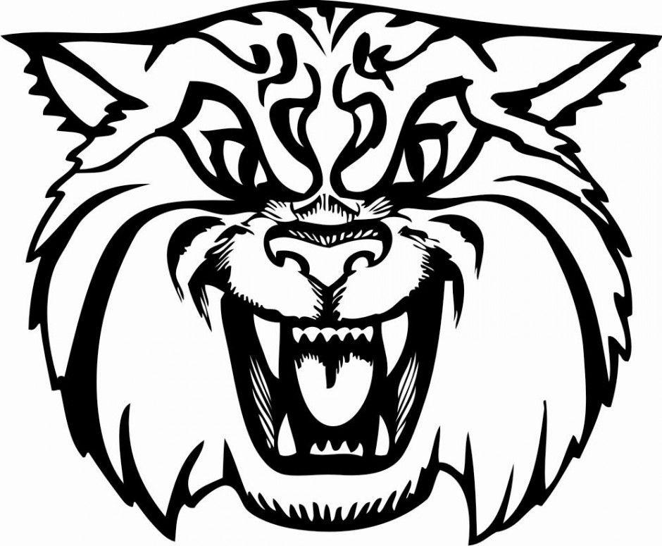 Wildcat coloring #20, Download drawings