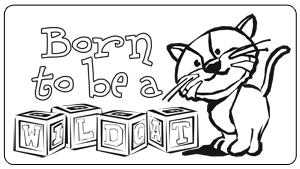 Wildcat coloring #12, Download drawings