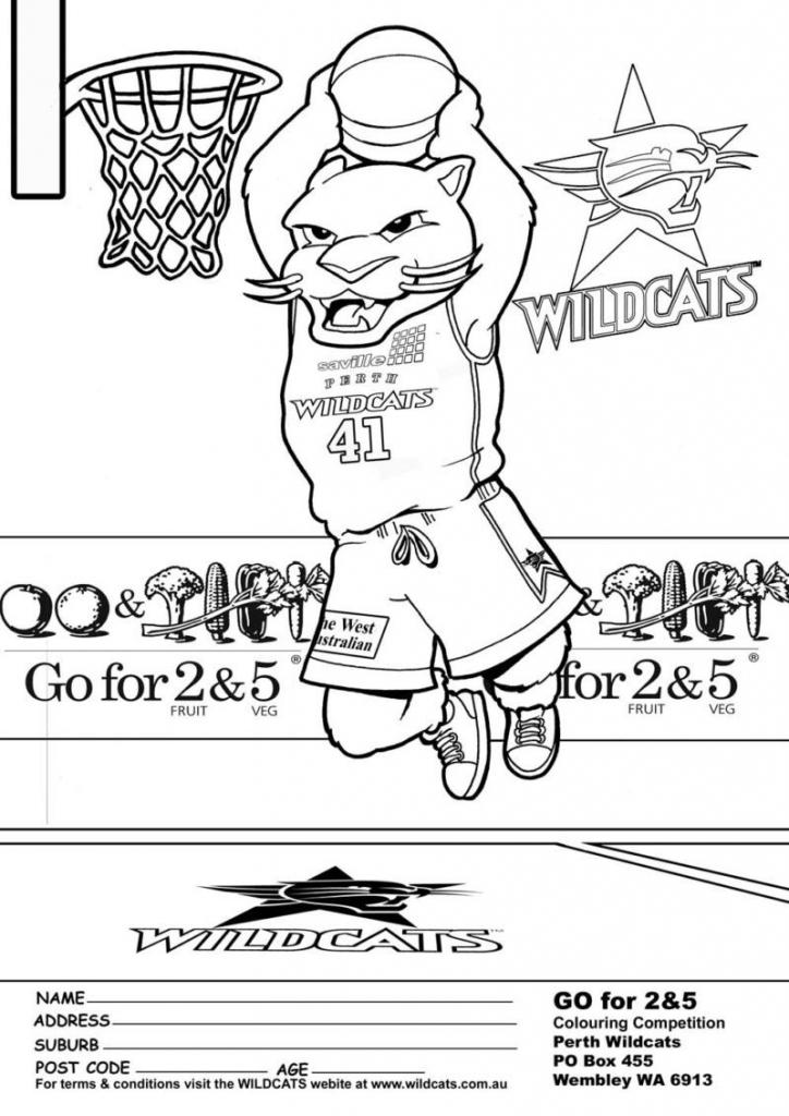 Wildcat coloring #6, Download drawings