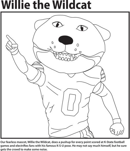 Wildcat coloring #2, Download drawings