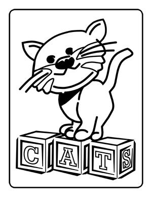 Wildcat coloring #10, Download drawings