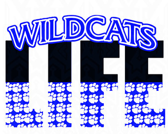 Wildcat svg #19, Download drawings