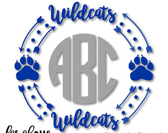 Wildcat svg #17, Download drawings