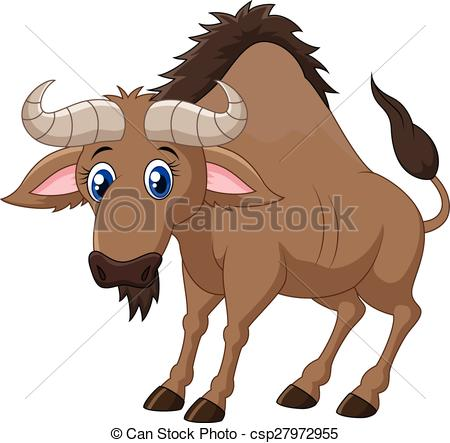 Wildebeest clipart #15, Download drawings