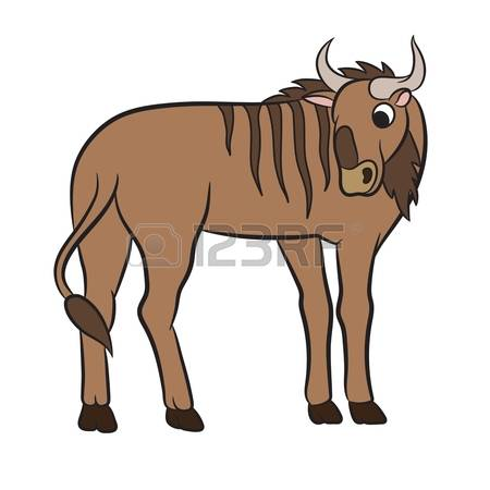 Blue Wildebeest coloring #14, Download drawings