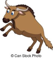Wildebeest clipart #9, Download drawings