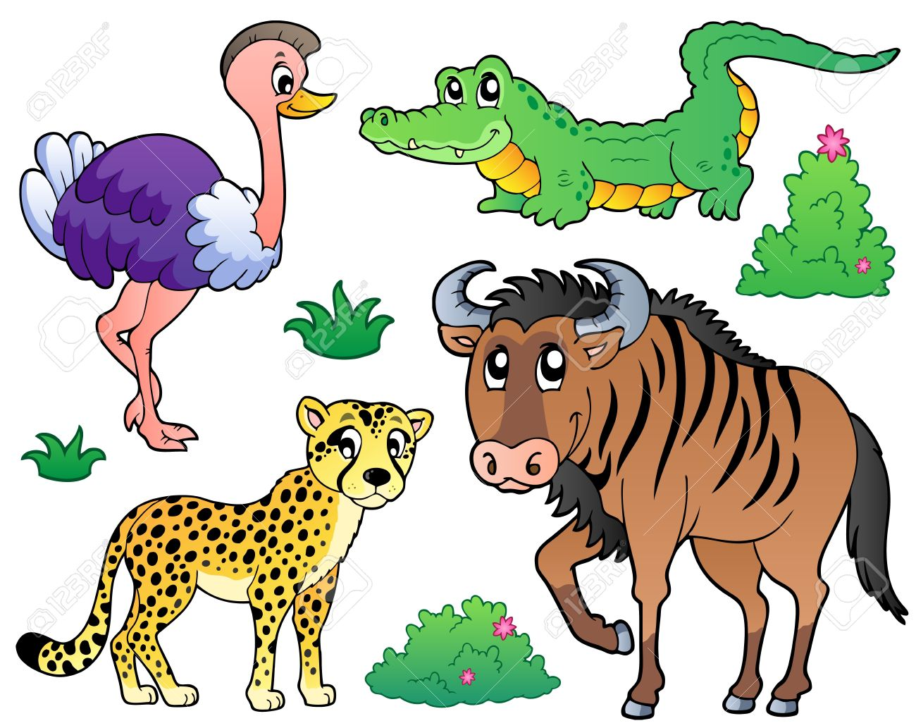Wildebeest clipart #5, Download drawings