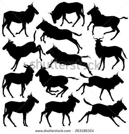 Wildebeest svg #18, Download drawings