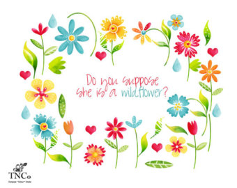 Wildflower clipart #13, Download drawings