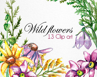 Wildflower clipart #10, Download drawings
