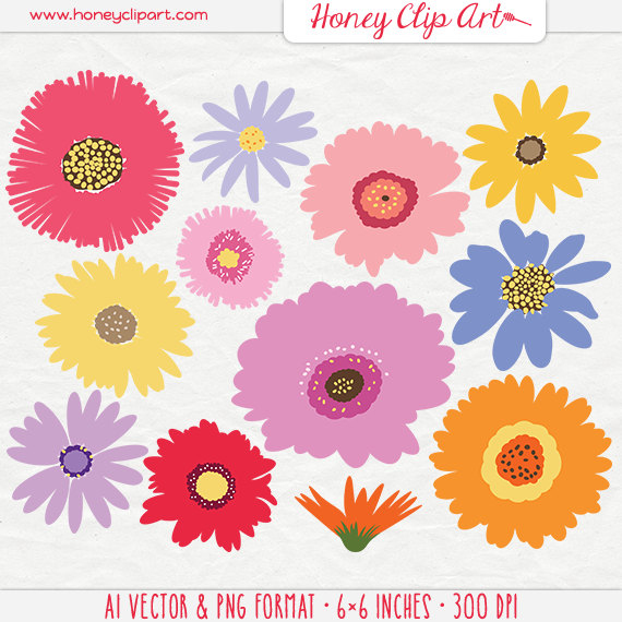 Wildflower clipart #9, Download drawings