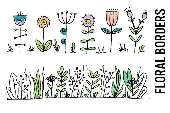 Wildflower clipart #2, Download drawings