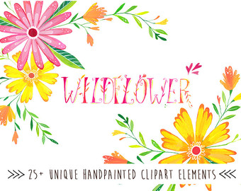 Wildflower clipart #16, Download drawings