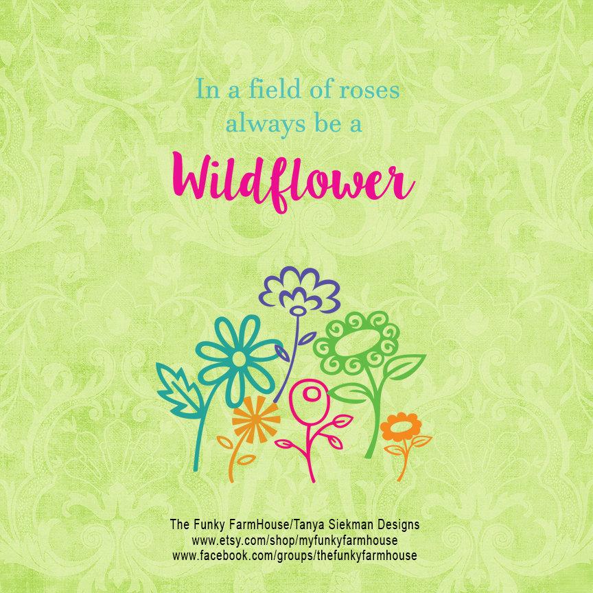 Wildflower svg #10, Download drawings