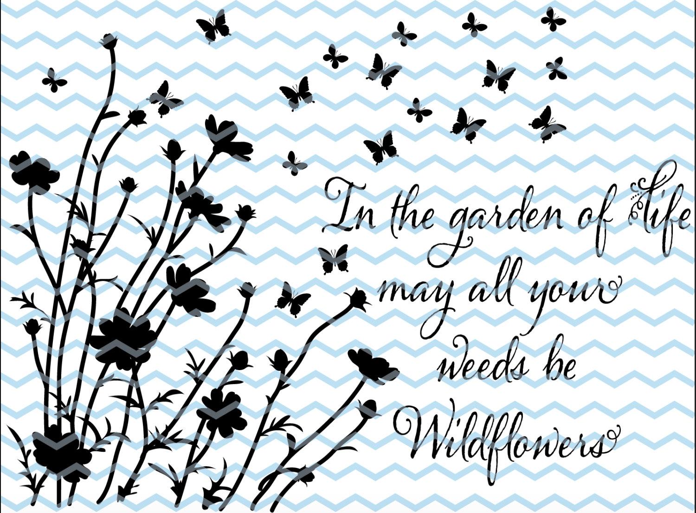 Wildflower svg #5, Download drawings