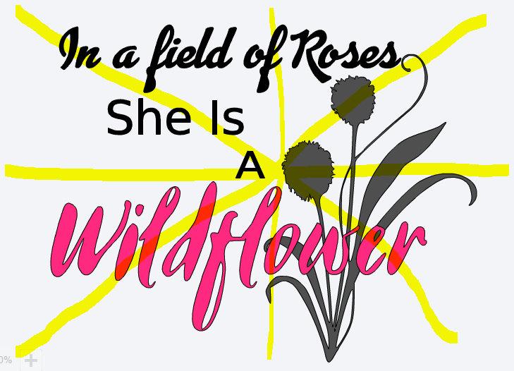 Wildflower svg #7, Download drawings
