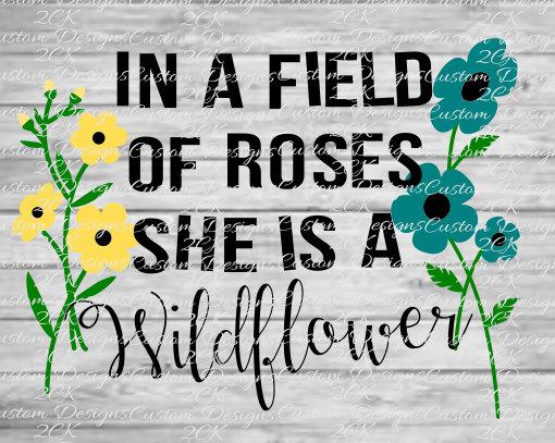 Wildflower svg #20, Download drawings