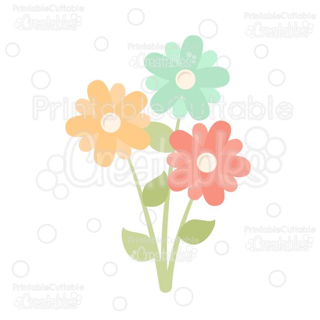 Wildflower svg #4, Download drawings