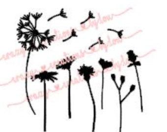 Wildflower svg #17, Download drawings