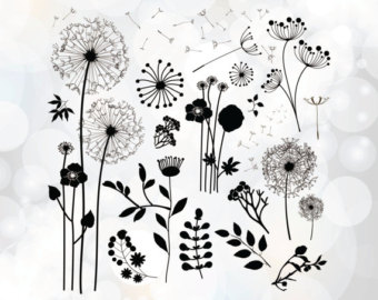 Wildflower svg #18, Download drawings
