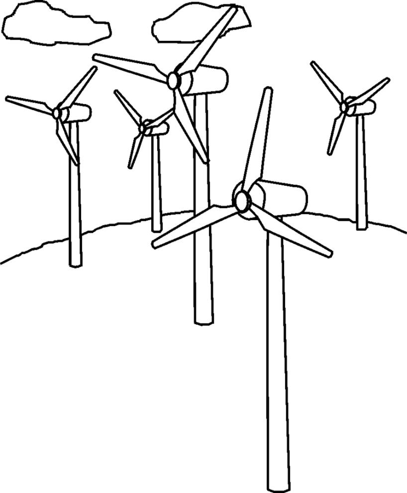 wind turbine coloring  download wind turbine coloring