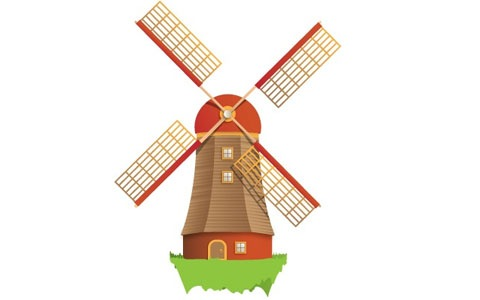 Windmill clipart #20, Download drawings
