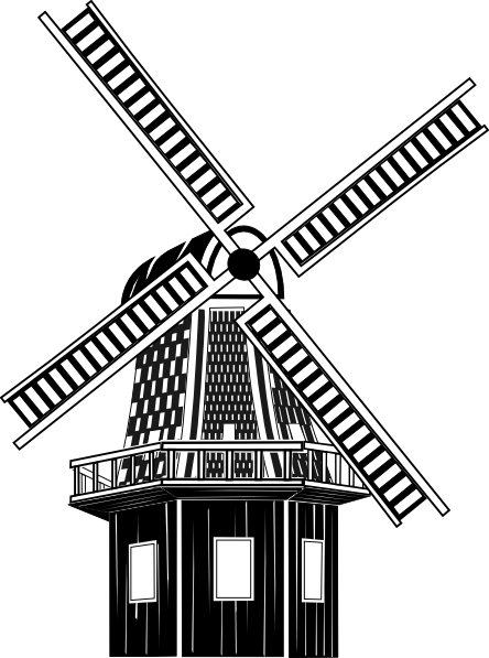 Windmill clipart #13, Download drawings