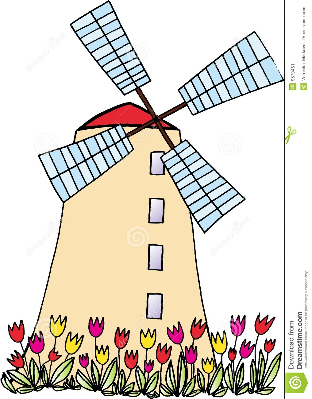 Windmill clipart #9, Download drawings