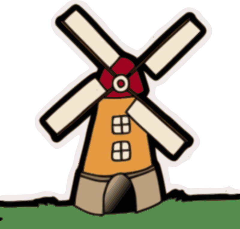 Windmill clipart #11, Download drawings