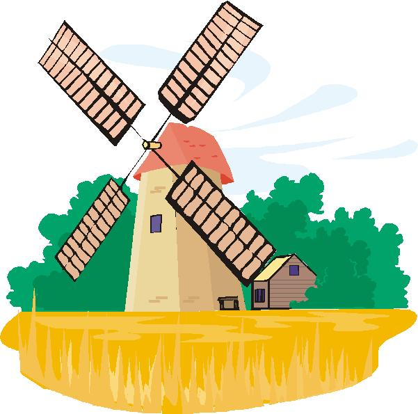 Windmill clipart #7, Download drawings