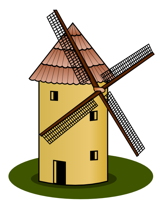 Windmill clipart #15, Download drawings