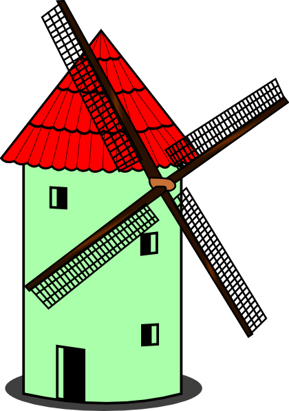 Windmill clipart #6, Download drawings