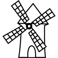 Windmill clipart #17, Download drawings