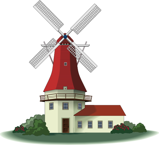 Windmill clipart #19, Download drawings