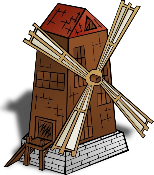 Windmill clipart #14, Download drawings