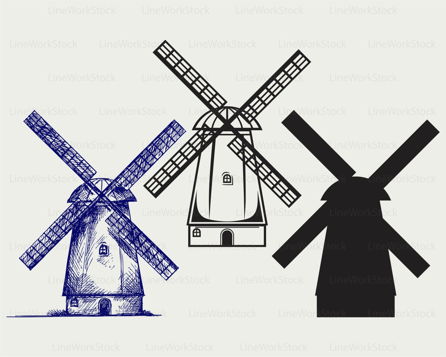 Windmill svg #640, Download drawings