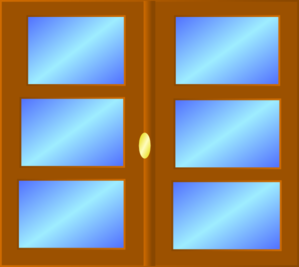Window clipart #3, Download drawings
