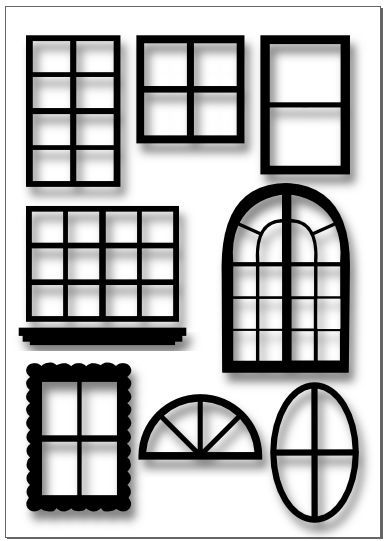Window svg #204, Download drawings