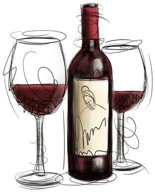 Wine clipart #2, Download drawings