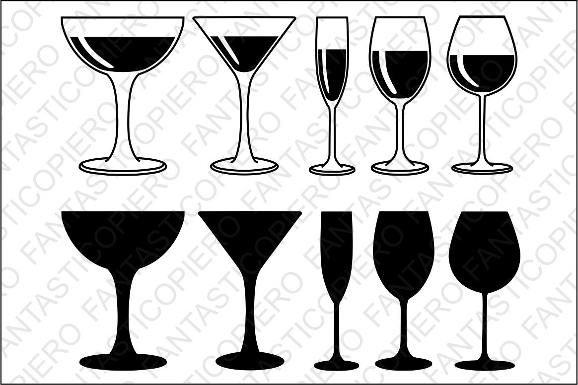 wine glass svg #260, Download drawings