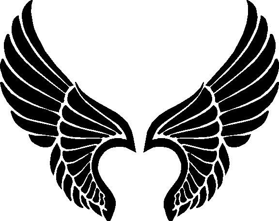 Wings clipart #2, Download drawings