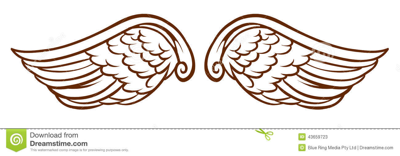Wings clipart #16, Download drawings